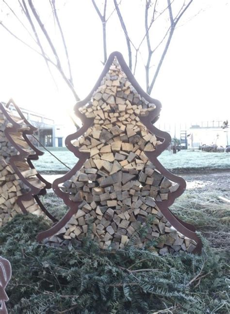 Deko Christbaum Metall by Weihnachtsbaum Metall Bilder Rost Deko