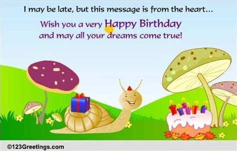 late  belated birthday wishes ecards