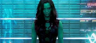 Gamora Guardians Galaxy Marvel Zoe Saldana Sneak