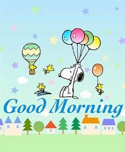 Good Morning Snoopy : good morning snoopy woodstock and friends flying around in hot air balloons paper airplanes ~ Orissabook.com Haus und Dekorationen
