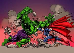 Hulk vs. Superman coloring by frostdusk on DeviantArt