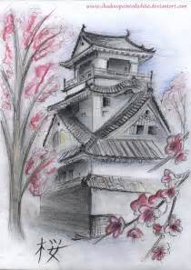 Japanese Houses Tattoos Drawings