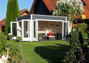 Gartenhaus Design Flachdach : design gartenhaus cubus wave 44 iso a z gartenhaus gmbh ~ Sanjose-hotels-ca.com Haus und Dekorationen
