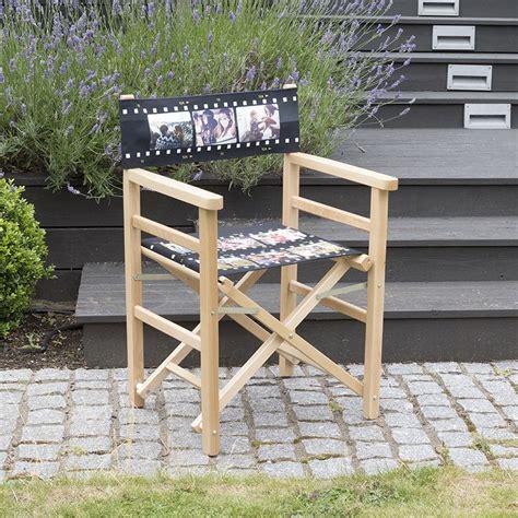 siege realisateur fauteuil réalisateur personnalisé impression de qualité