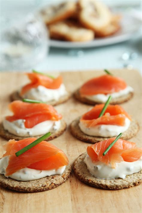 canape s smoked salmon canapes free stock photo domain