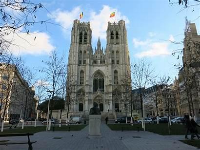 Cathedral St Michael Gudula Brussels Church Filip