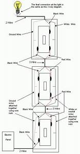 cooper 4 way switch wiring diagram wiring diagram and With 3 way switch design