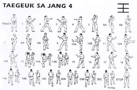 17 best images about poomsae taegeuk forms on pinterest