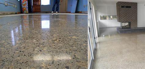 solid bamboo flooring concrete floor polishing grind seal prestige floor