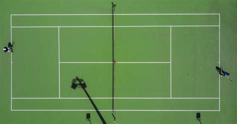 Traditionally court size is given in the imperial measurement of feet. Tennis Court Dimensions: How Big Is A Tennis Court?