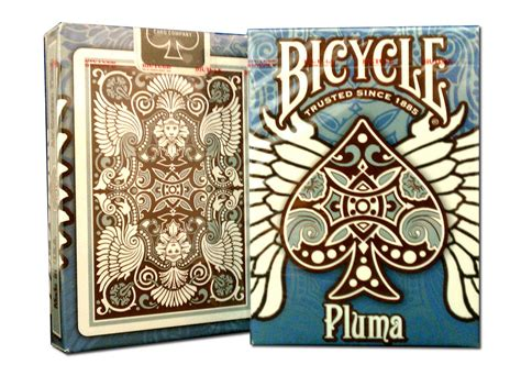 Bicycle® Pluma Deck Playing Cards Aka Mayan Deck Tribal
