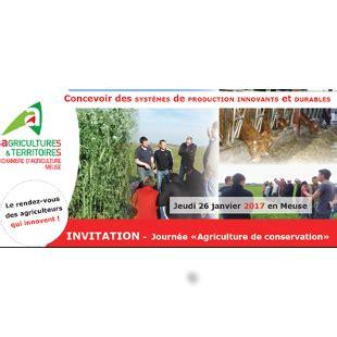 chambre agriculture meuse journée technique quot agriculture de conservation quot 26 janvier