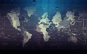 Carte Du Monde Design : fond d 39 ecran carte du monde wallpaper ~ Teatrodelosmanantiales.com Idées de Décoration