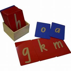 sandpaper letters lower case wood puzzles With sandpaper letters