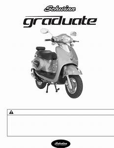 Schwinn Motor Scooters Mobility Aid 50gr06bl User Guide