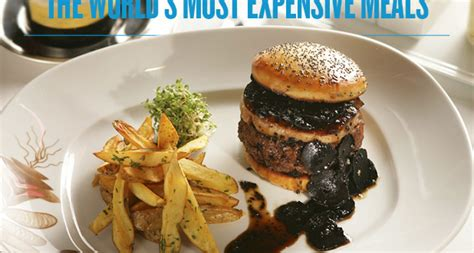 the world s most expensive meals sharp magazine