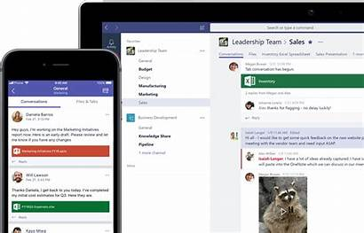 Teams Microsoft Mobile Screen Chat Office Using