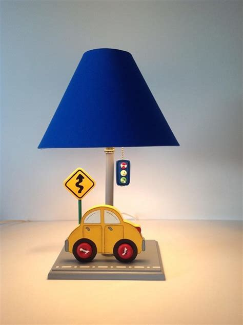 cars table lamps  kids room kids lamps   ten