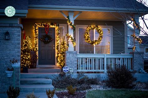 easy outdoor christmas decorations christmas home tour outdoor entryway
