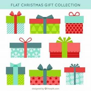 Christmas Present Vectors s and PSD files
