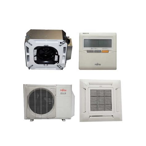ceiling cassette mini split size fujitsu 18rlfcc 18 000 btu 20 1 seer heat air