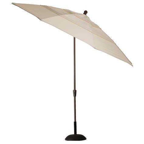 crank auto tilt umbrella outdoor patio umbrellas