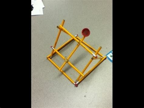 pencil catapult      youtube