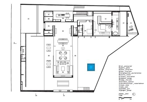 gallery of v4 house studio mk27 marcio kogan furlanetto 31 studios