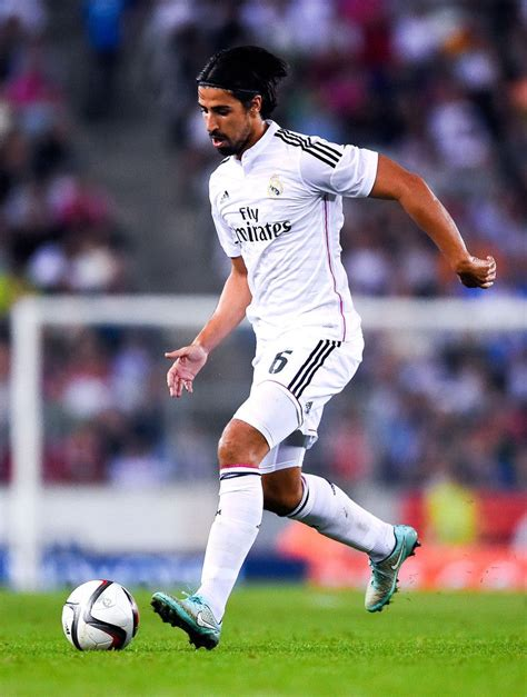 He plays for juventus and germany national team. Sami Khedira of Real Madrid CF runs with the ball during the Copa Del Rey Round of 32 first leg ...