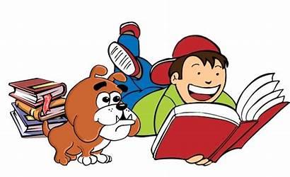Reading Clipart Someone Novel Bulldog Cliparts Summer