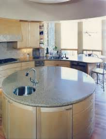 rounded kitchen island artisan collection granite island modern kitchen countertops by artisan