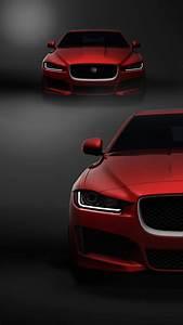 Jaguar Red Car HD Mobile Wallpaper Vactual Papers