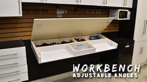 diy fold  workbench youtube