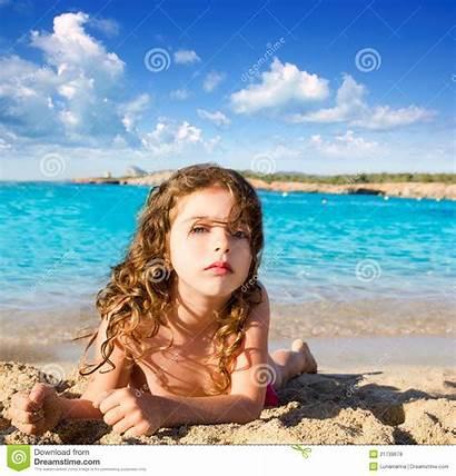 Strand Petite Beach Ibiza Bambina Nudist Praia