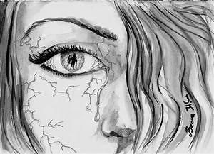 Easy Pencil Drawings Of Depression Best 25+ Dark Drawings ...