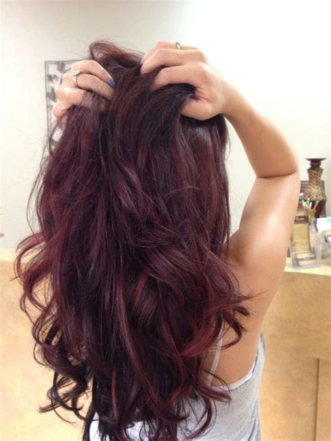 S Hair Color by Redken Rv Color Violet Hair Color With