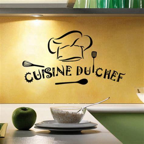 decor mural cuisine home kitchen vinyl wall stickers cuisine du chef wall sticker kitchen wall decal