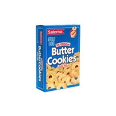 salerno butter cookies  original calories nutrition
