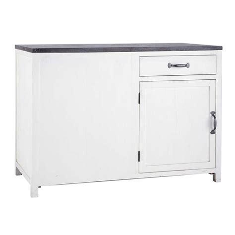 meuble bas de cuisine 120 cm meuble bas de cuisine ouverture gauche en bois recyclé