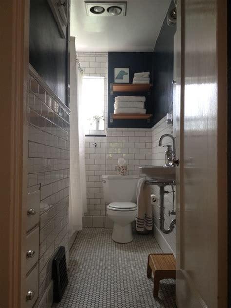small narrow bathroom remodel traditional bathroom