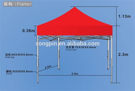 custom printed  ez  canopy tent  rental business outdoor marquee tent foldable