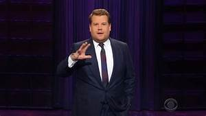 James Corden Makes Fun of Trump for Suggesting Spain Build ...