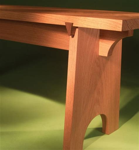 sliding dovetail bench popular woodworking magazine