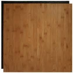 bamboo interlocking flooring place n go bamboo 18 5 in x 18 5 in interlocking waterproof vinyl tile with built in