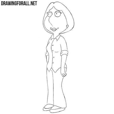 draw lois griffin drawingforallnet