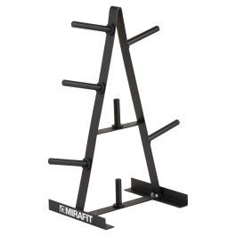 weight plate storage rack  standard  weights mirafit