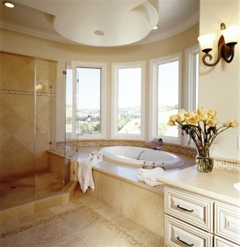 bay windows bathroom traditional brooke wagner design ideas