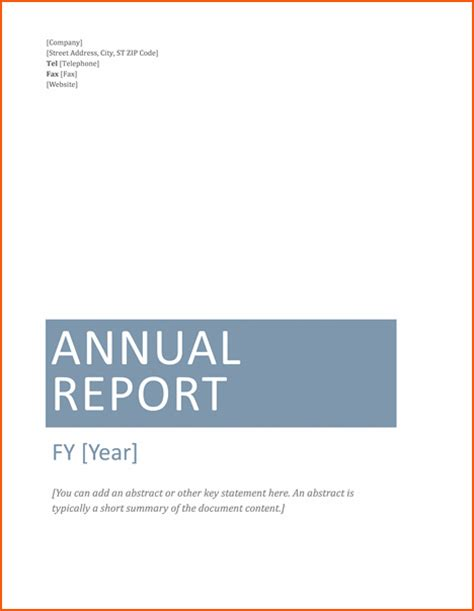 business report template word 7 microsoft word report templates bookletemplate org