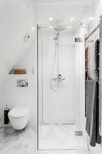 Douche Petit Espace : 1001 id es pour am nager une petite salle de bain des strat gies pour pargner de l 39 espace ~ Voncanada.com Idées de Décoration