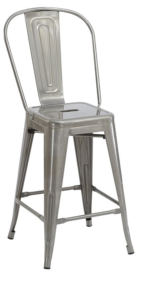 24 quot dining counter height bar stool chair high back set of